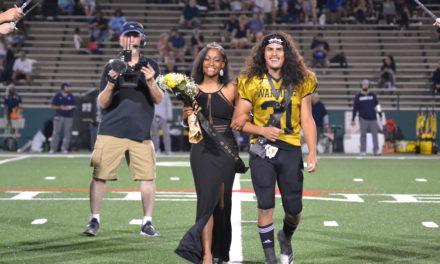 Football Player, Band member crowned king, queen