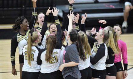 Varsity volleyball ends season, sets sights to next year