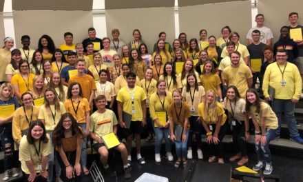 Students, staff remember lost teens by wearing yellow, learn precautions for mass shootings