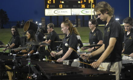 Eagle Band Marches Into the School Year